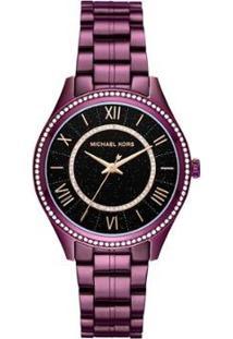 Relógio Michael Kors Feminino Lauryn - Mk3724/1Nn Mk3724/1Nn - Feminino-Roxo