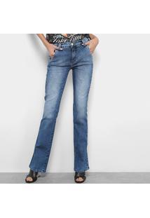 7212d2df6 ... Calça Jeans Triton Boot Cut Feminino - Feminino-Azul