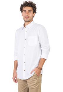Camisa Lisa Branco