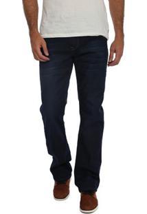 Calça Jeans 3D Straight