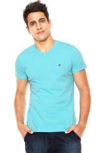 Camiseta Enfim Slim Azul