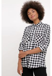 Camisa Xadrez Vichy Flanela