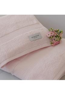 Toalha De Banho Baixa Torção 550 Gr. Rosa - Scavone