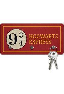 Porta Chaves Ecologico Hogwarts Express 3 Pontos Harry Potter