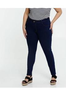 Calça Jeans Plus Size Biotipo Skinny Feminina - Feminino
