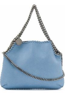 Stella Mccartney Bolsa Transversal Falabella Mini - Azul