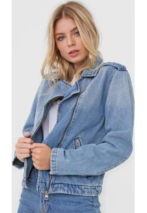 Jaqueta Jeans Calvin Klein Jeans Perfecto Azul