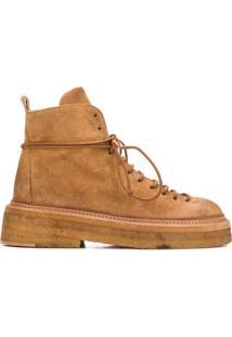Marsèll Ankle Boot Salto Bloco - Neutro