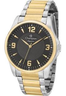 Relógio Champion Elegance Cn27778P Feminina - Feminino-Prata