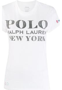 Polo Ralph Lauren Camiseta Com Logo - Branco