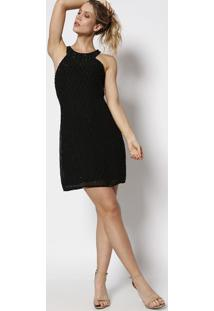 d6b226b15 ... Vestido Eliana Com Pedrarias - Preto - Le Lis Blancle Lis Blanc