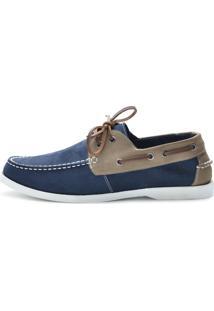 Docksider Casual Moderno Shoes Grand Confortável Grafite