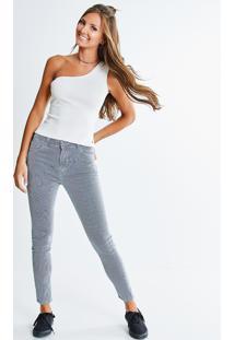 Calça Skinny Jeans Listrada