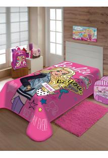 Cobertor Solteiro Jolitex Rosa Pink
