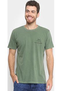 Camiseta Foxton Coconut Masculina - Masculino-Verde