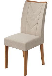 Cadeira Atacama Linho Rinzai Bege Rovere Naturale
