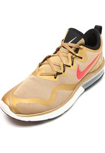 Tênis Nike Air Max Fury Dourado