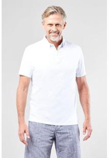 Camisa Polo Reserva Diferenciada Balneario - Masculino-Branco
