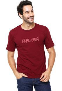 Camiseta Rgx Dvali Gang Bordô
