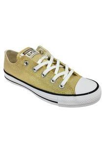 Tênis Converse Chuck Taylor All Star Ouro Preto Branco
