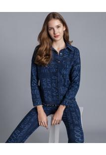 Camisa Manga Longa Mullet Jeans - Lez A Lez