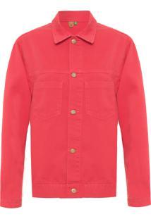 Jaqueta Feminina Color - Vermelha