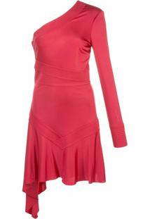 Alexis Vestido Assimétrico Gaja - Vermelho
