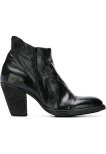 Officine Creative Ankle Boot 'Joelle' De Couro - Preto