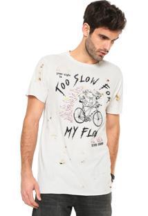 Camiseta John John Slow Flow Off-White