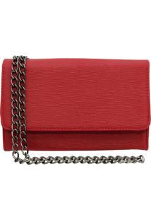 Bolsa Sandiee Clutch Pequena Vermelho - Kanui