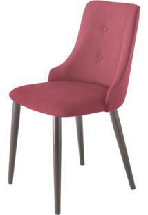 Cadeira Francis Assento Rustico Marsala Com Base Tabaco - 46850 - Sun House