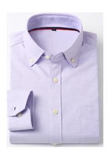 Camisa Social Masculina Nashville - Roxo