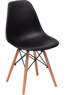 Cadeira Impã©Rio Brazil Charles Eames Eiffel - Incolor/Preto - Dafiti
