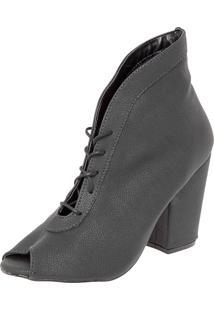 Ankle Boot Fiveblu Preta