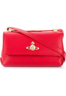 Vivienne Westwood Bolsa Transversal Mini - Vermelho