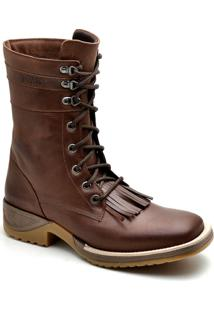 Bota Top Franca Shoes Texana - Masculino-Café