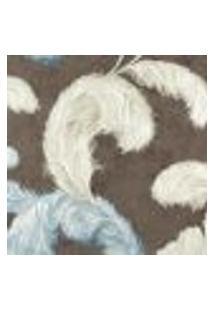 Papel De Parede Adesivo Decoração 53X10Cm Azul -W17302