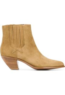 Golden Goose Ankle Boot - Cuoio