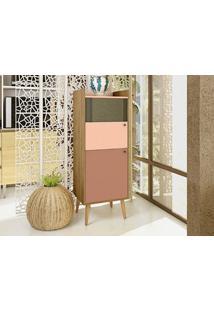 Cristaleira 2 Portas Style Buriti/Ceramic/Millenium -Líder Design