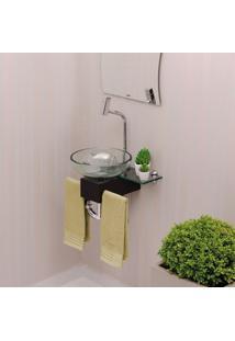 Gabinete Para Banheiro De Vidro Franklin Astra Transparente