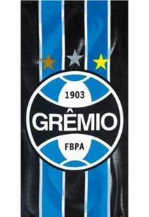 Toalha Banho Velour Estampada Grêmio - Unissex
