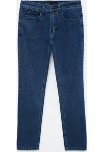 Calça Skinny Em Jeans Moletom