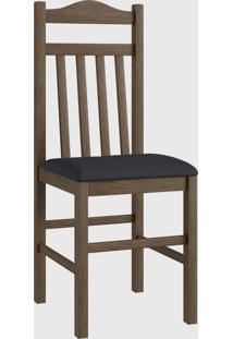 Cadeira Mad 300 Par Marrom Móveis Canção
