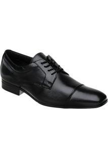 Sapato Doctor Pé Extremamente Leve Couro De Carneiro 68501 - Masculino-Preto