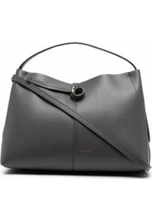 Wandler Mini Ava Shoulder Bag - Cinza