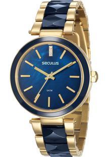 Relógio Seculus Feminino 20596Lpsvdq1