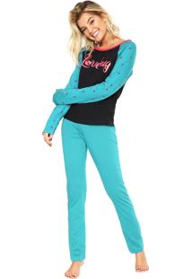 Pijama Hering Lovebug Verde