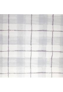 Papel De Parede Pintura Rústica Azul Branco E Roxo Fwb - Kanui