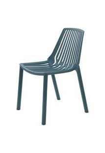Cadeira Morgana Polipropileno Cor Verde Petroleo - 29782 Verde