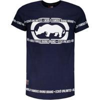 Camiseta Ecko Especial Masculina - Masculino-Marinho 084d71b447a
